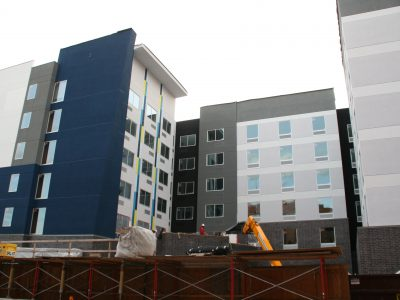Friday Photos: Downtown Hotel Trio Takes Shape