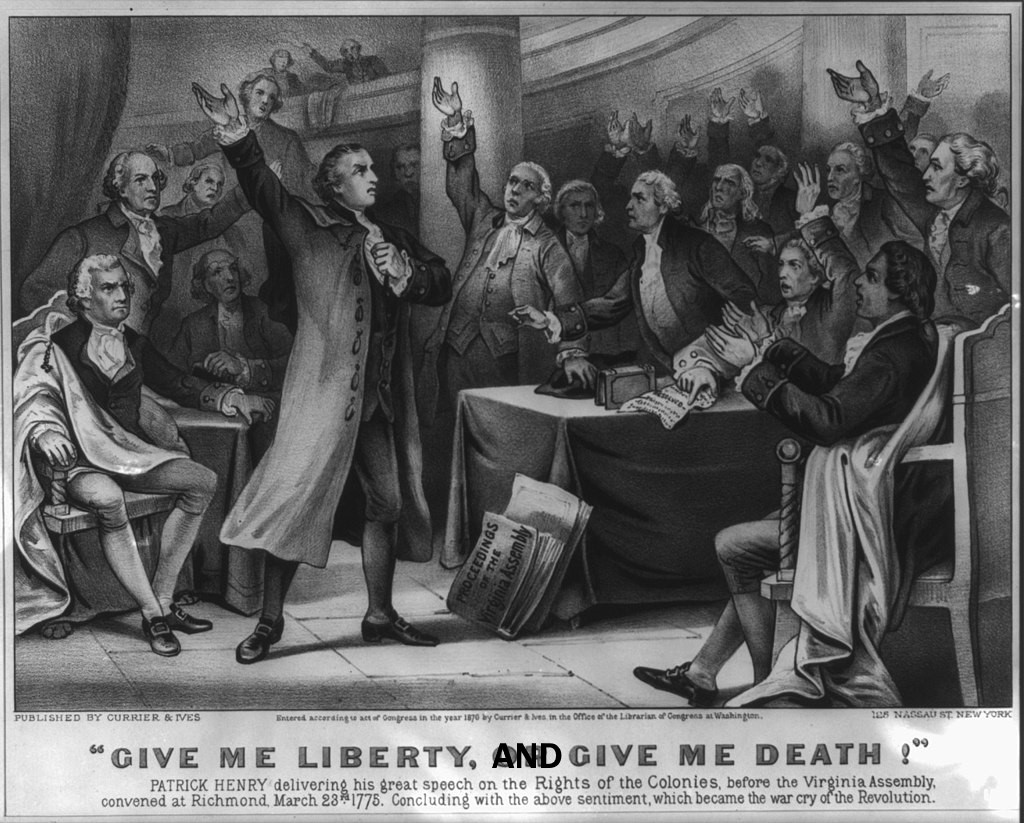 Give Me Liberty and Give Me Death