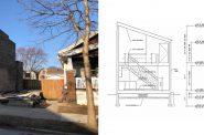 2549 S. Logan Ave. Photo by Jeramey Jannene, elevations by Joel Agacki.