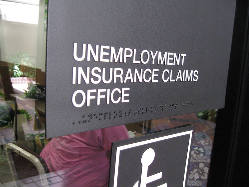 Unemployment Insurance Claims Office. Photo by Bytemarks (CC-BY).