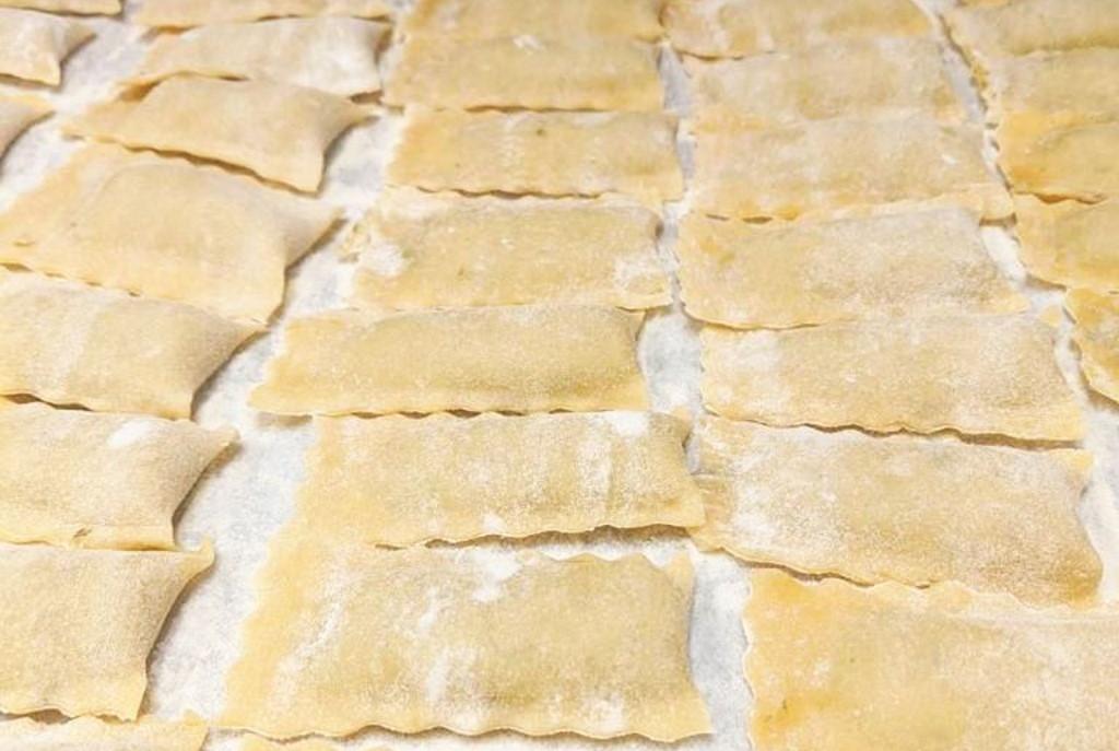 Handmade ravioli by Hidden Kitchen MKE.