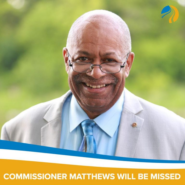 George Matthews. Photo from the Social Development Commission.