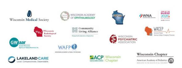 Groups that sent a letter to Gov. Evers supporting his extension of the #SaferAtHome order
