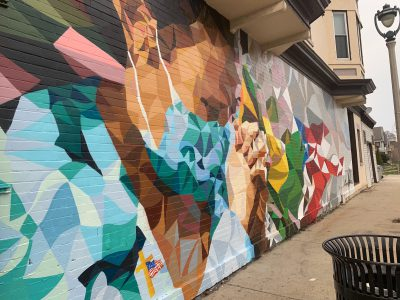 New Mural Honors Healthcare Workers