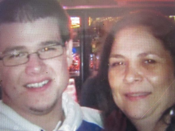 Ryan Lemke (left) and his mother Jodi Nelson (right) Photo by Isiah Holmes/Wisconsin Examiner.