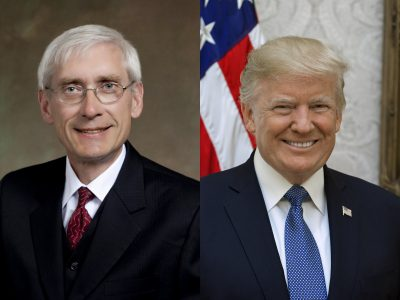 Trump Says Evers Accepts Federal Troops