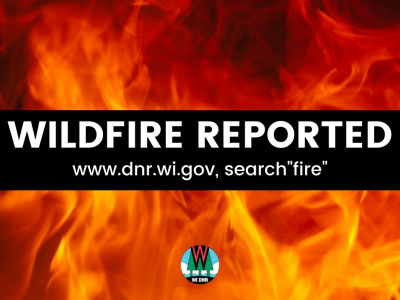 200-Acre Wildfire In Juneau County