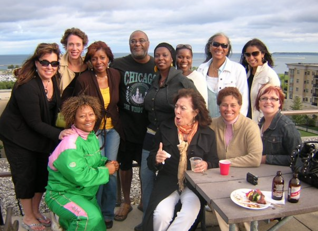 """Eugene's annual """"Up-on-da-Roof"""" party at his lakefront condo was always a highlight for Tannette Johnson-Elie, who would eagerly make the drive from northern Illinois to enjoy good food, music and socializing with his small, close-knit circle of friends. Photo provided by Tannette Johnson-Elie/NNS."""
