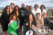 "Eugene's annual ""Up-on-da-Roof"" party at his lakefront condo was always a highlight for Tannette Johnson-Elie, who would eagerly make the drive from northern Illinois to enjoy good food, music and socializing with his small, close-knit circle of friends. Photo provided by Tannette Johnson-Elie/NNS."