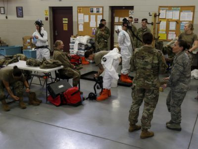 National Guard Not Deployed To Enforce Quarantine
