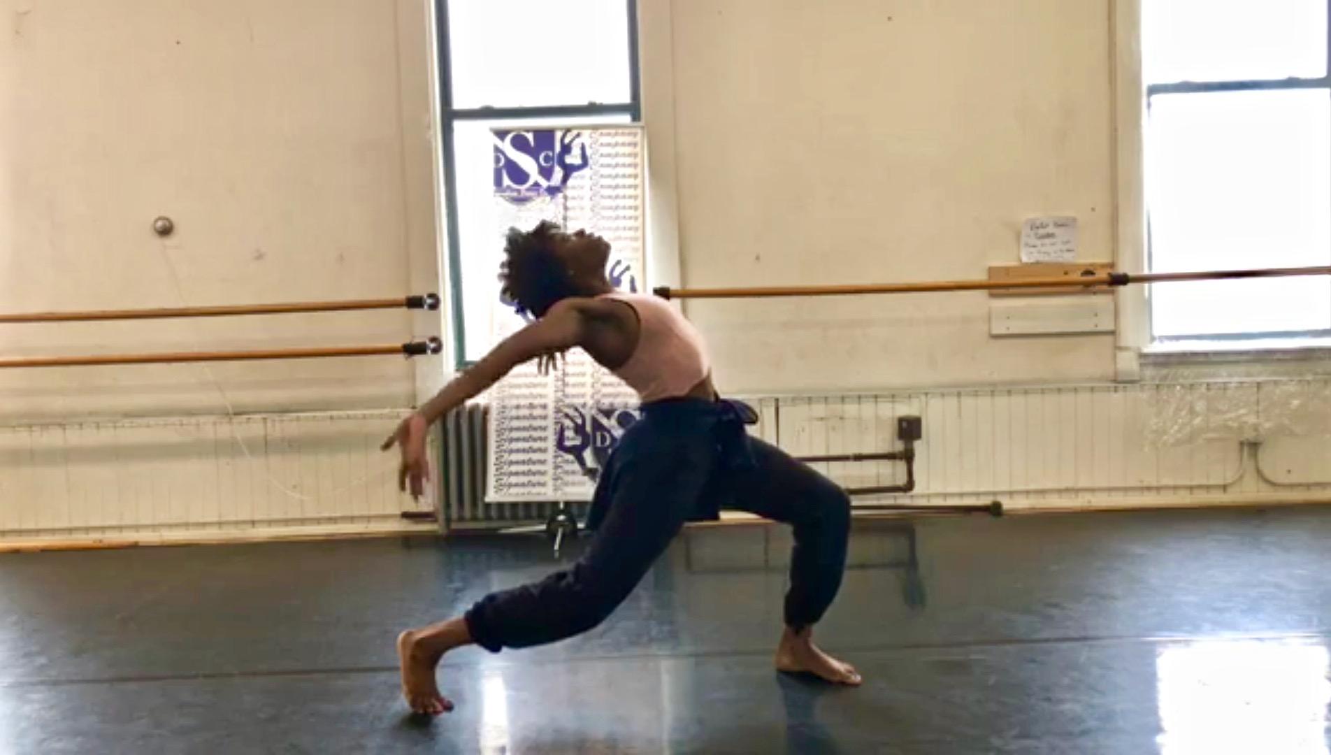 Signature Dance Company instructor Kimi Evelyn teaches a virtual dance class via Facebook Live. Photo provided by Signature Dance Company/NNS.