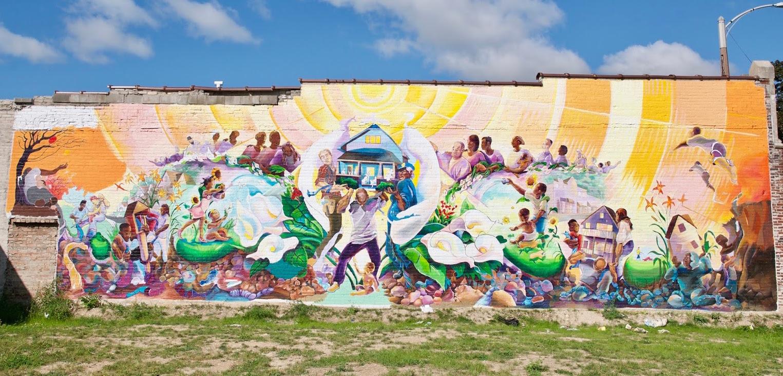 """""""Sherman Park Rising"""" by Tia Richardson. Photo courtesy of Tia Richardson."""
