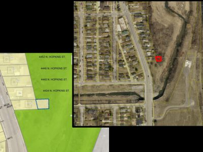 Transportation: City Rezoning Lot for Future North Side Trail