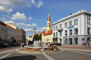 Town Hall Square' Vilnius. Photo by FaceMePLS. (CC BY 2.0) https://creativecommons.org/licenses/by/2.0/