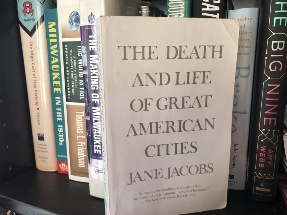 """""""The Death and Life of Great American Cities,"""" by Jane Jacobs. Photo by Dave Reid."""
