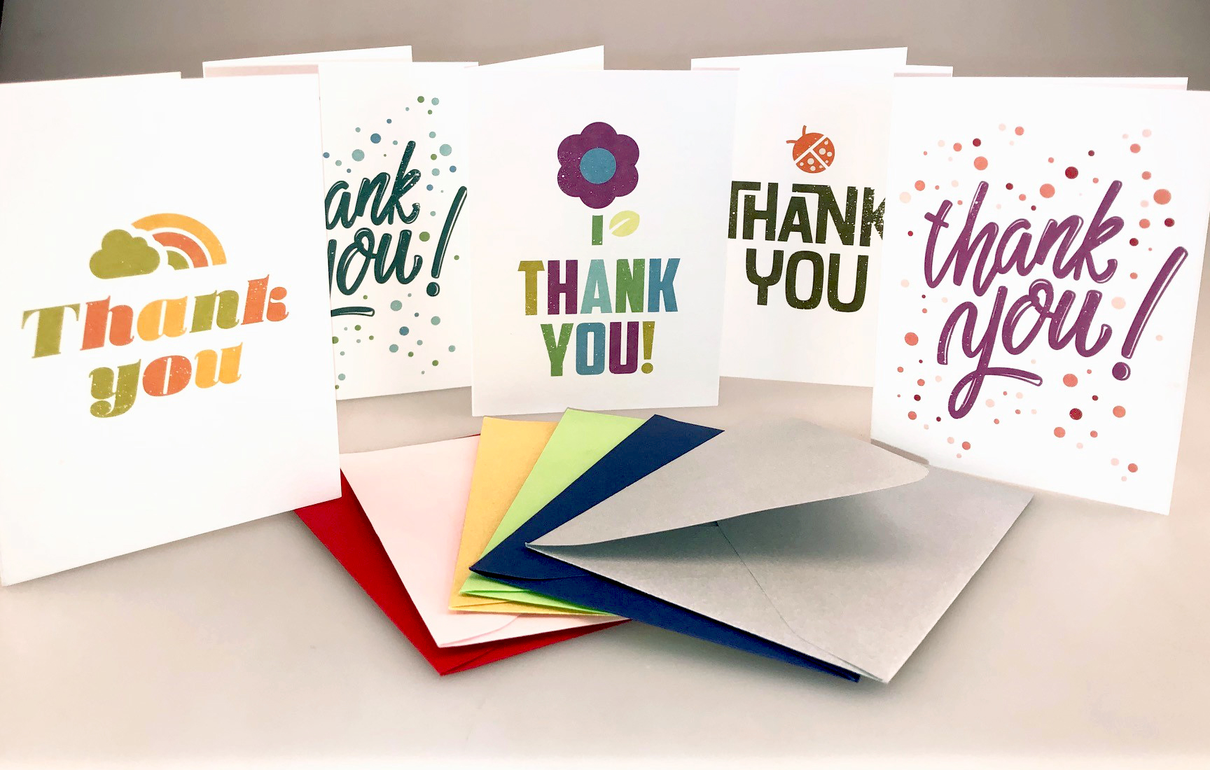 A Million Thanks! Photo courtesy of Leader Paper Products.