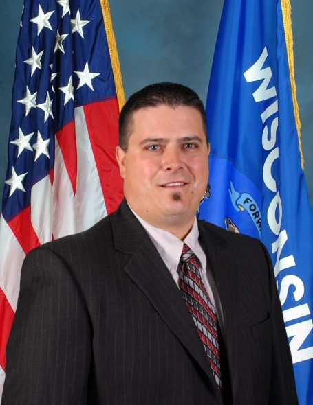 Jesse Crowe. Photo from the Wisconsin Department of Justice.