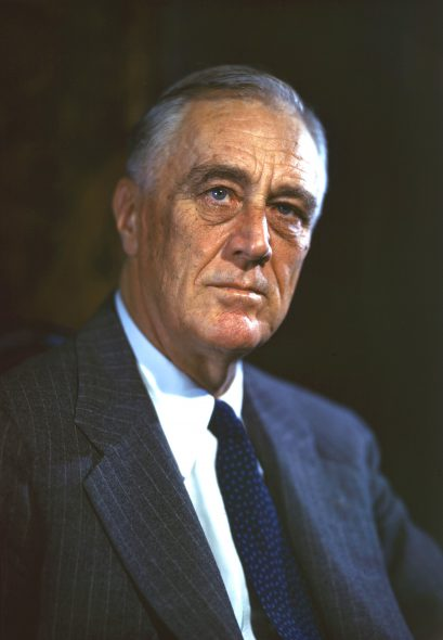 Franklin Roosevelt. Photograph: Leon A. Perskiedigitization: FDR Presidential Library & Museum / CC BY (https://creativecommons.org/licenses/by/2.0)