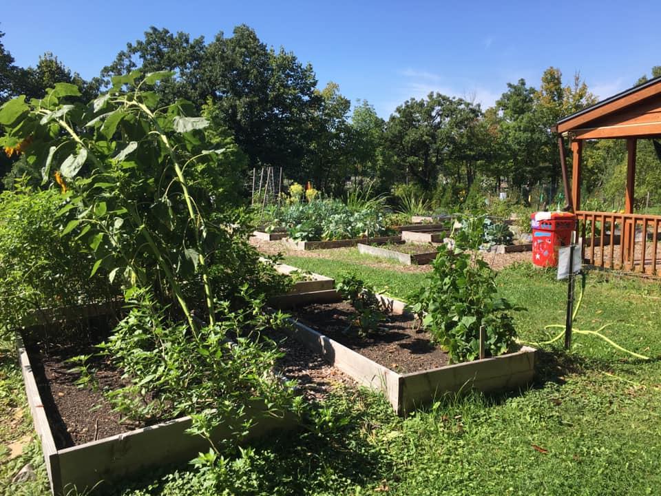 Garden. Photo by Edgar Mendez /NNS.