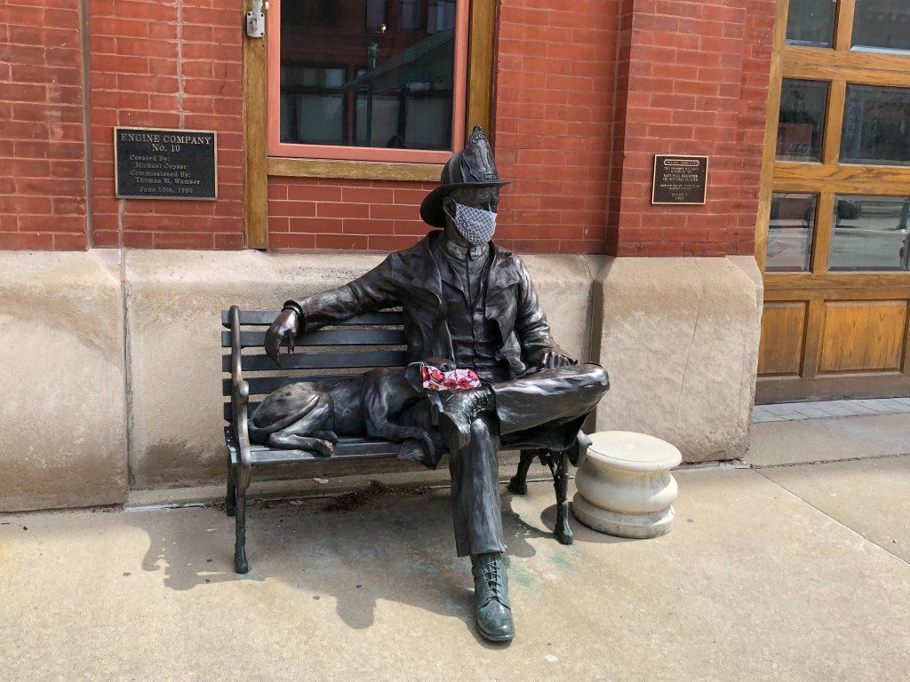 Third Ward statue. Photo by Dave Reid.