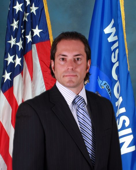 Matthew Joy. Photo from the Wisconsin Department of Justice.