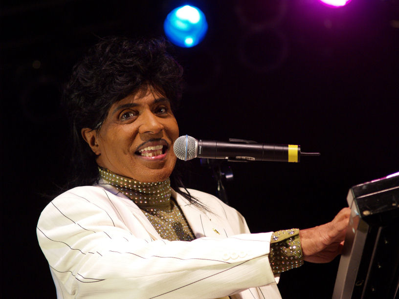 Little Richard. (Public Domain).