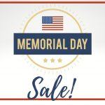 Memorial Day Weekend Membership Sale