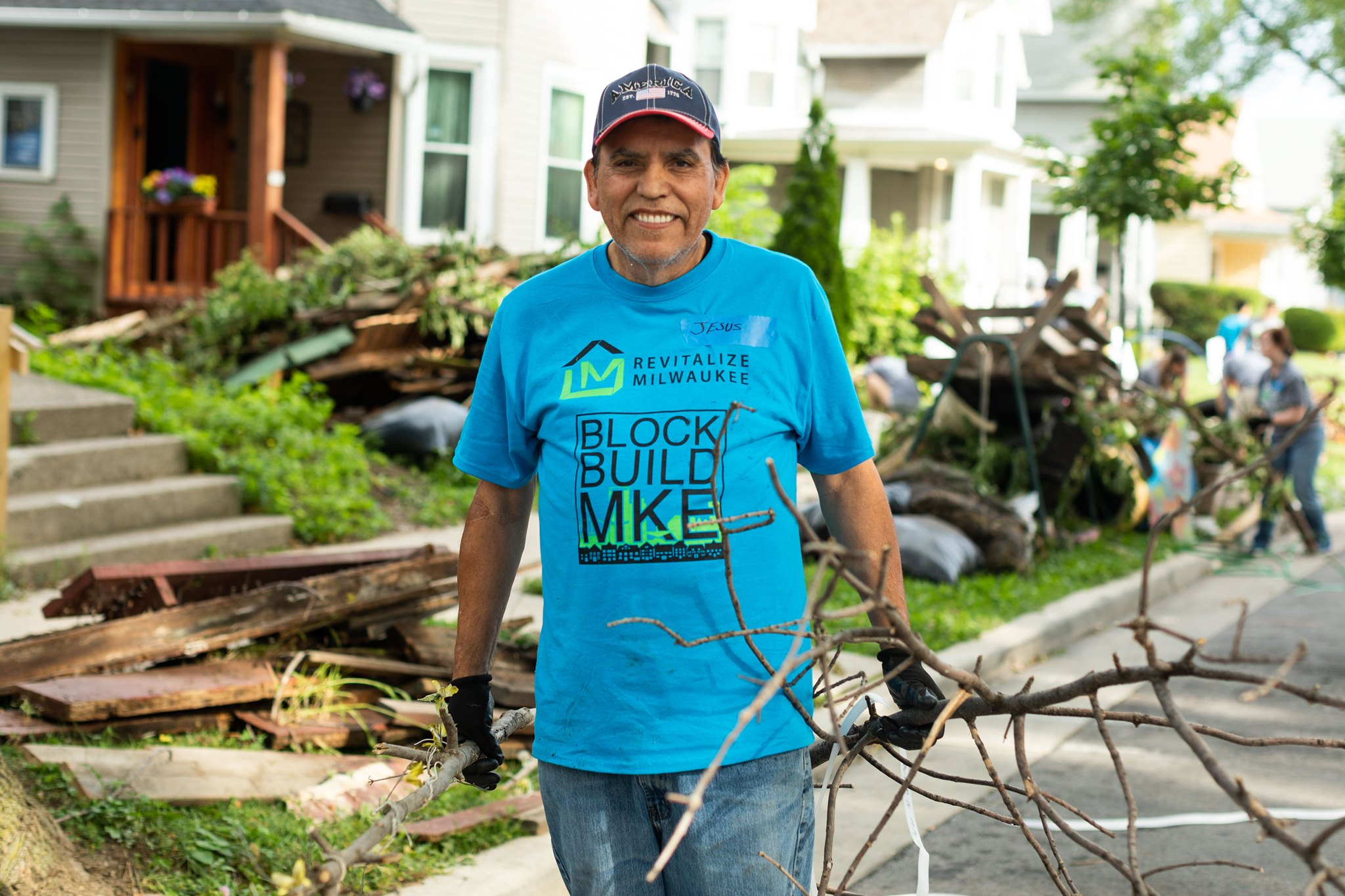 Many nonprofit agencies are offering help for critical housing repairs during the COVID-19 pandemic. Photo courtesy of Revitalize Milwaukee.