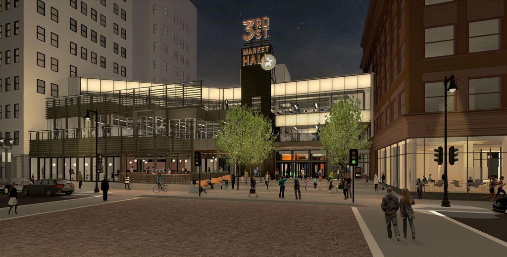 The Avenue Rendering.