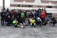 F.E.A.R. participants before a run. Photo from Social X.