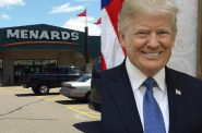 Menards and Donald Trump.