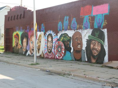 Protest Day 31: New Mural Honors Milwaukee Activists