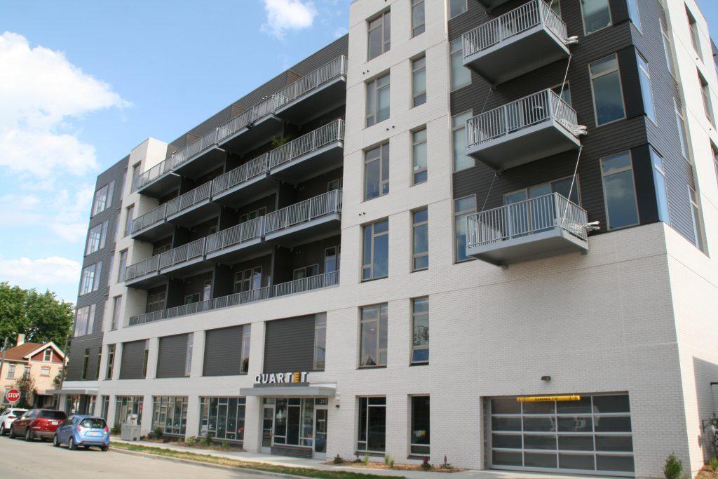 Quartet apartment building. Photo by Jeramey Jannene.
