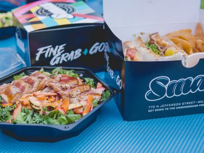 Dining: Smax Brings Boxed Lunches to Downtown