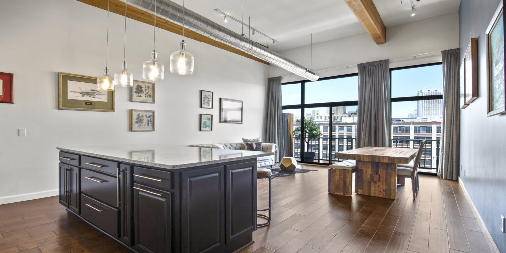 200 S. Water St., #406. Photo courtesy of Corley Real Estate.