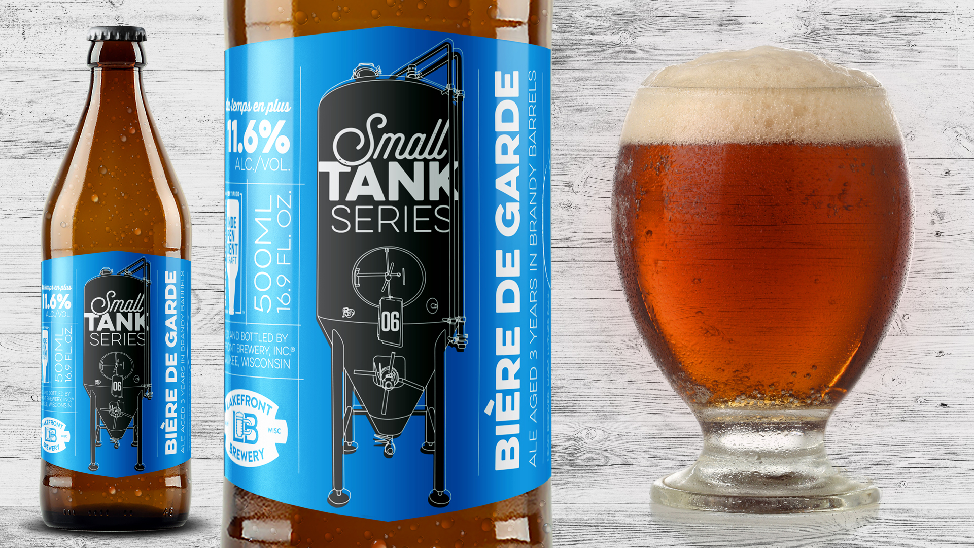 Lakefront Brewery Releases #06 Small Tank Series July 7