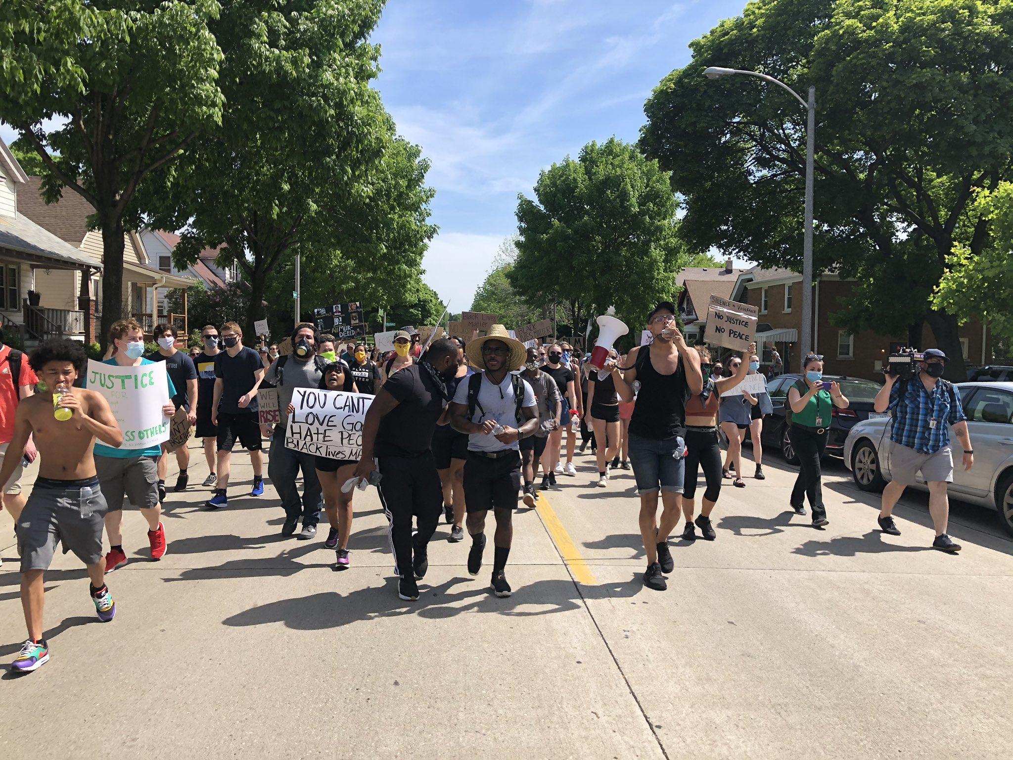 George Floyd Protests. Photo by Jeramey Jannene.