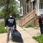 King Drive Cleanup Draws Hundreds