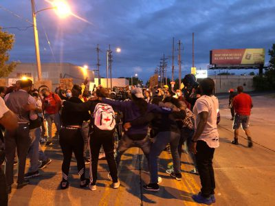 Protest Day 15: Peaceful March Snakes Through South Side