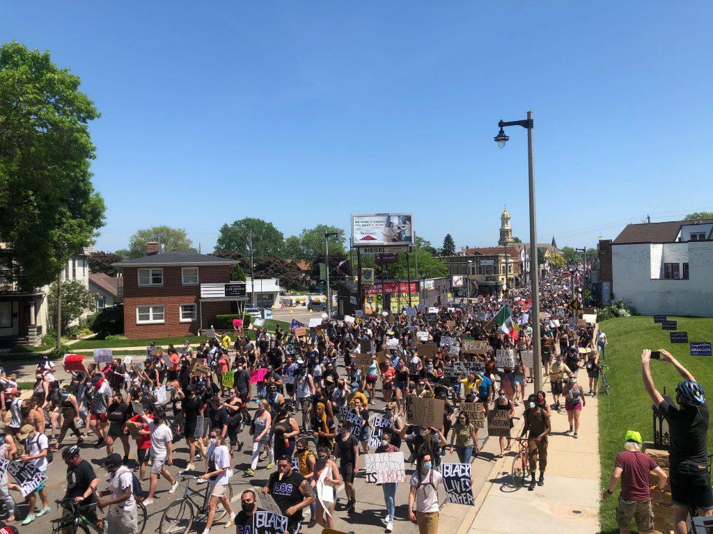 June 2nd Protest. Photo by Jeramey Jannene.