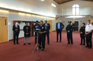 Milwaukee Police Chief Alfonso Morales addresses the media. Photo by Jeramey Jannene.