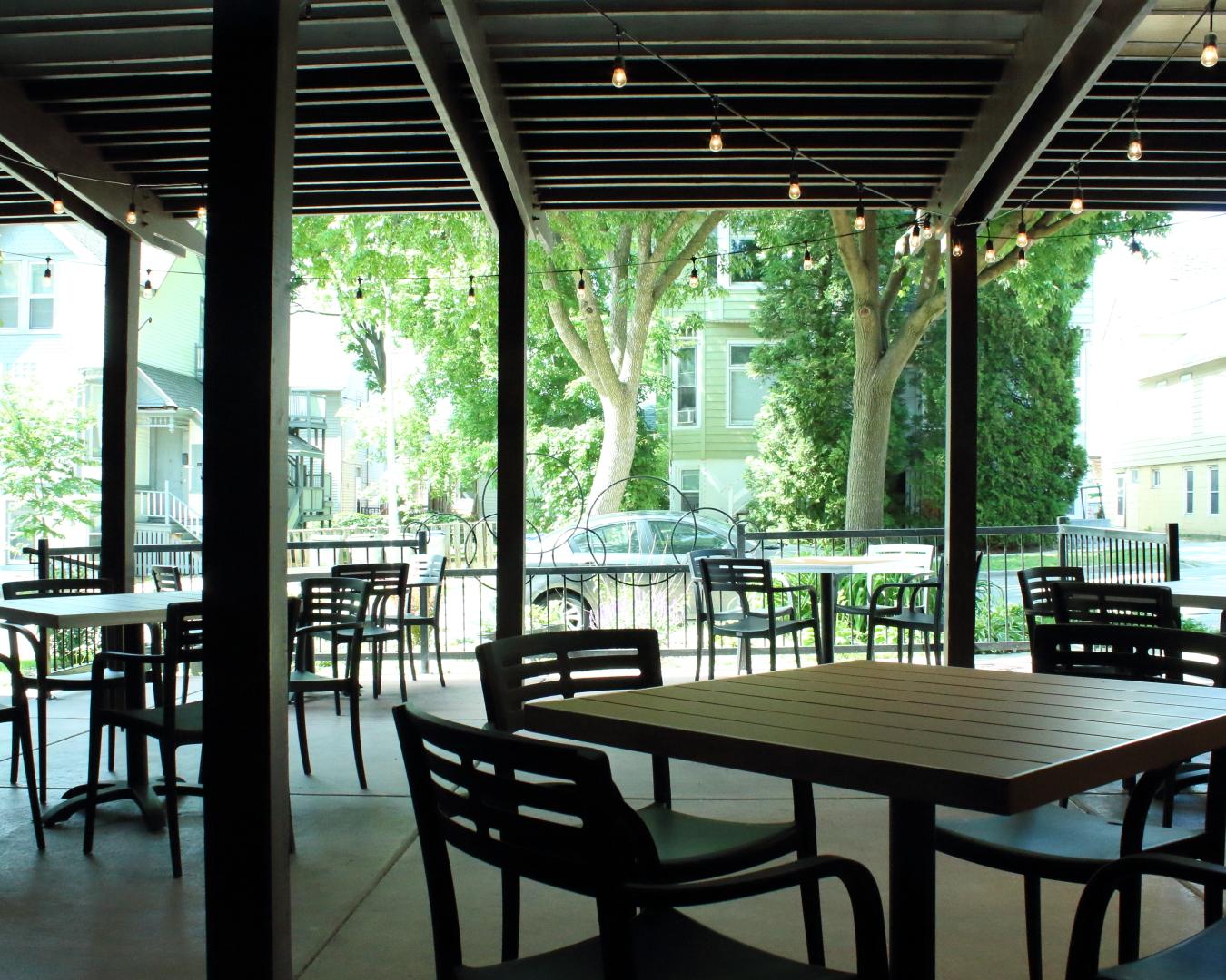 The Original's patio. Photo courtesy of The Original.