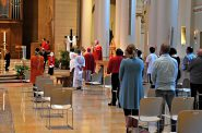 St. John's Cathedral reopening Mass. Photo by David Bernacchi.