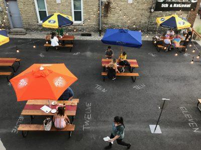 Dining: Transfer Pizzeria Has New Outdoor Patio