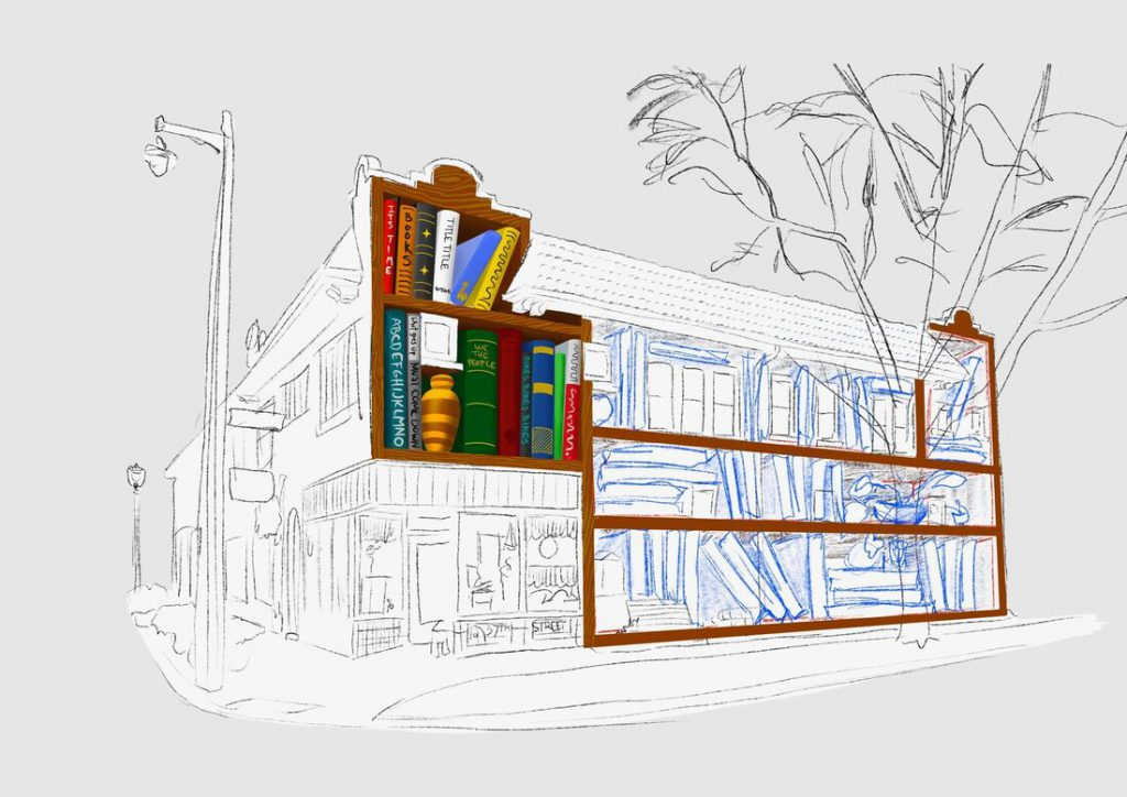Heights Dream Library rendering. Rendering courtesy of the Washington Heights Neighborhood Association.