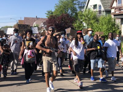 Nitty Leads Peaceful March While Protecting Against Assassination