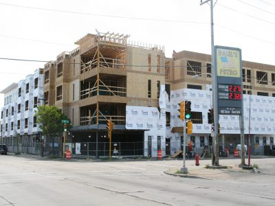 Friday Photos: Villard Commons Rises