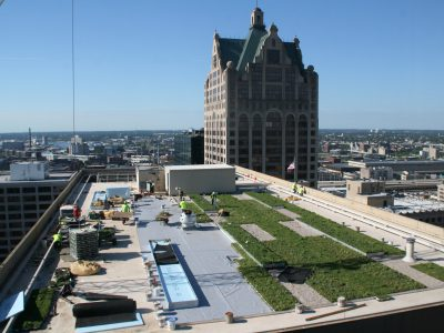 Eyes on Milwaukee: Irgens Installing Highest Green Roof in City