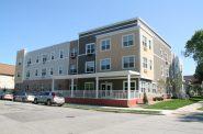Clarke Square Apartments building at 2331 W. Vieau Pl. Photo by Jeramey Jannene.