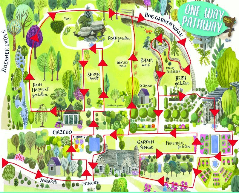 Boerner Botanical Gardens. Map from <a href='http://urbanmilwaukee.com/government/milwaukee-county-parks' srcset=